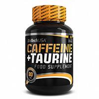BioTechUSA Caffeine & Taurine 60 Caps