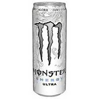Monter Energy Ultra 355 ml Slim White