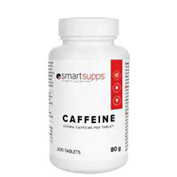 SmartSupps Caffeine 200 mg 200 Tabs
